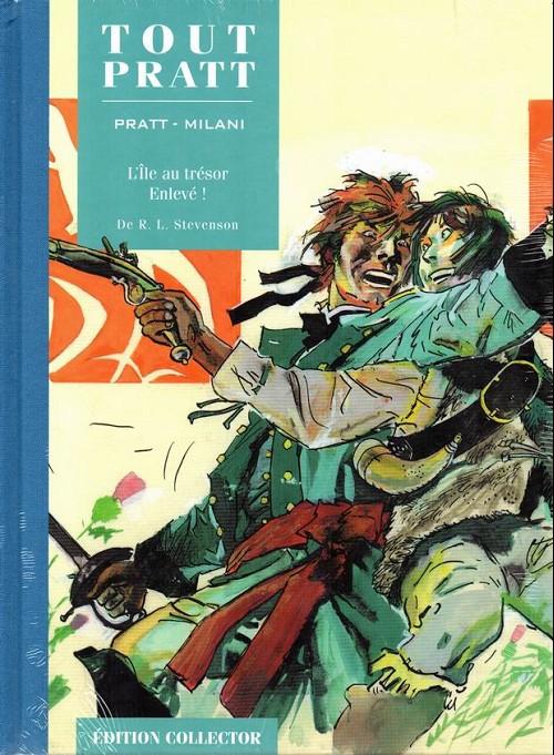 Couverture de Tout Pratt (collection Altaya) -42- L'Île au trésor - Enlevé !