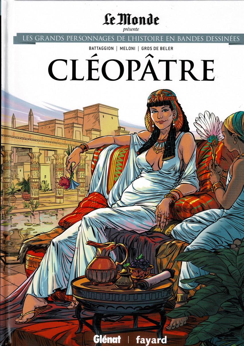 Couverture de Les grands Personnages de l'Histoire en bandes dessinées -42- Cléopâtre