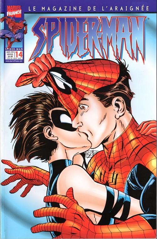 Couverture de Spider-Man (Marvel France 2e série - 2000) -14- Spider-man 14 - il était une fois...