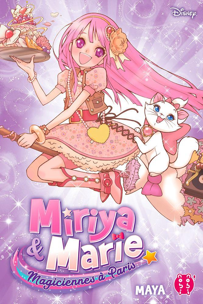 Couverture de Miriya et Marie, magiciennes à Paris