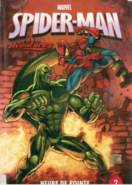Couverture de Spider-Man - Les aventures (Presses Aventure) -2- Heure de pointe