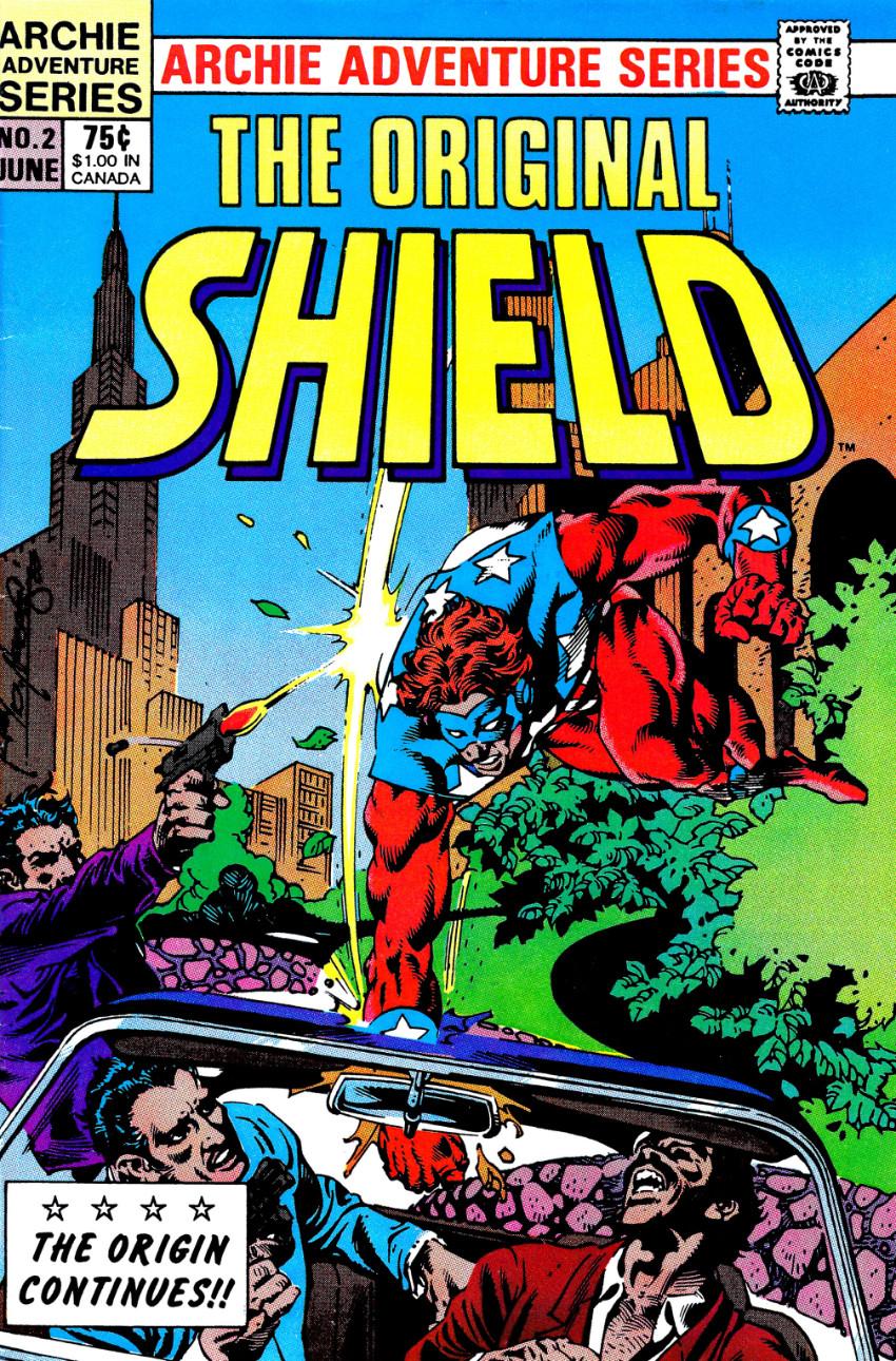 Couverture de Original Shield (The) (Archie comics - 1984) -2- Issue # 2