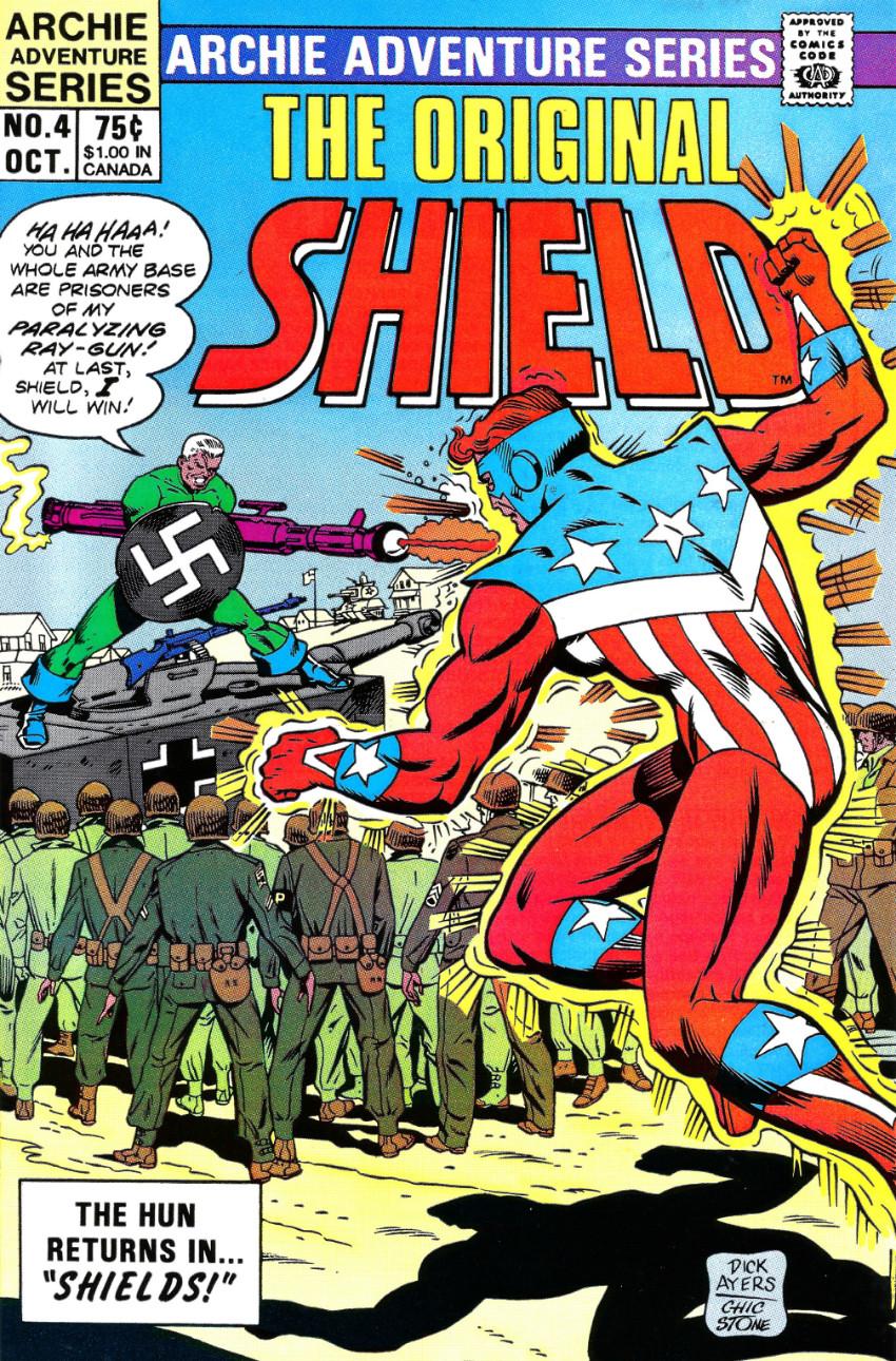 Couverture de Original Shield (The) (Archie comics - 1984) -4- Shields!
