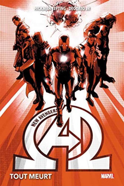 Couverture de New Avengers (The) (Marvel Now!) -INT01- Tout Meurt