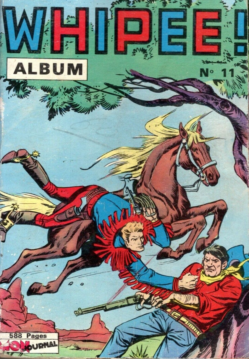 Couverture de Whipii ! (Panter Black, Whipee ! puis) -Rec11- Album N°11 (20, En Garde 7, Apaches 19)