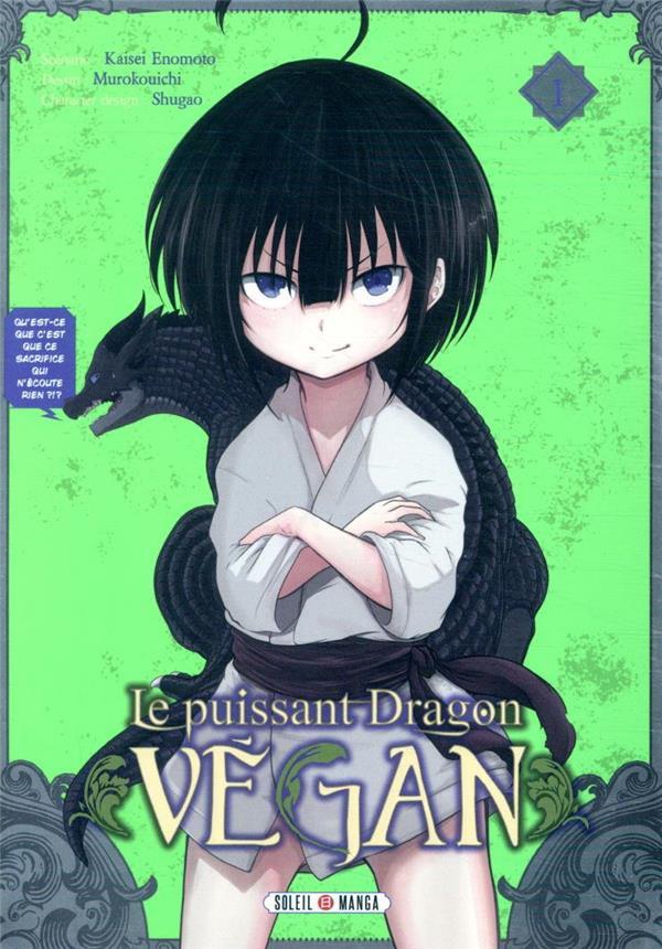 Couverture de Le puissant dragon Vegan -1- Tome 1