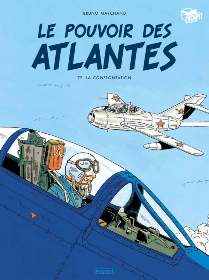 Couverture de Le pouvoir des Atlantes -2- La confrontation