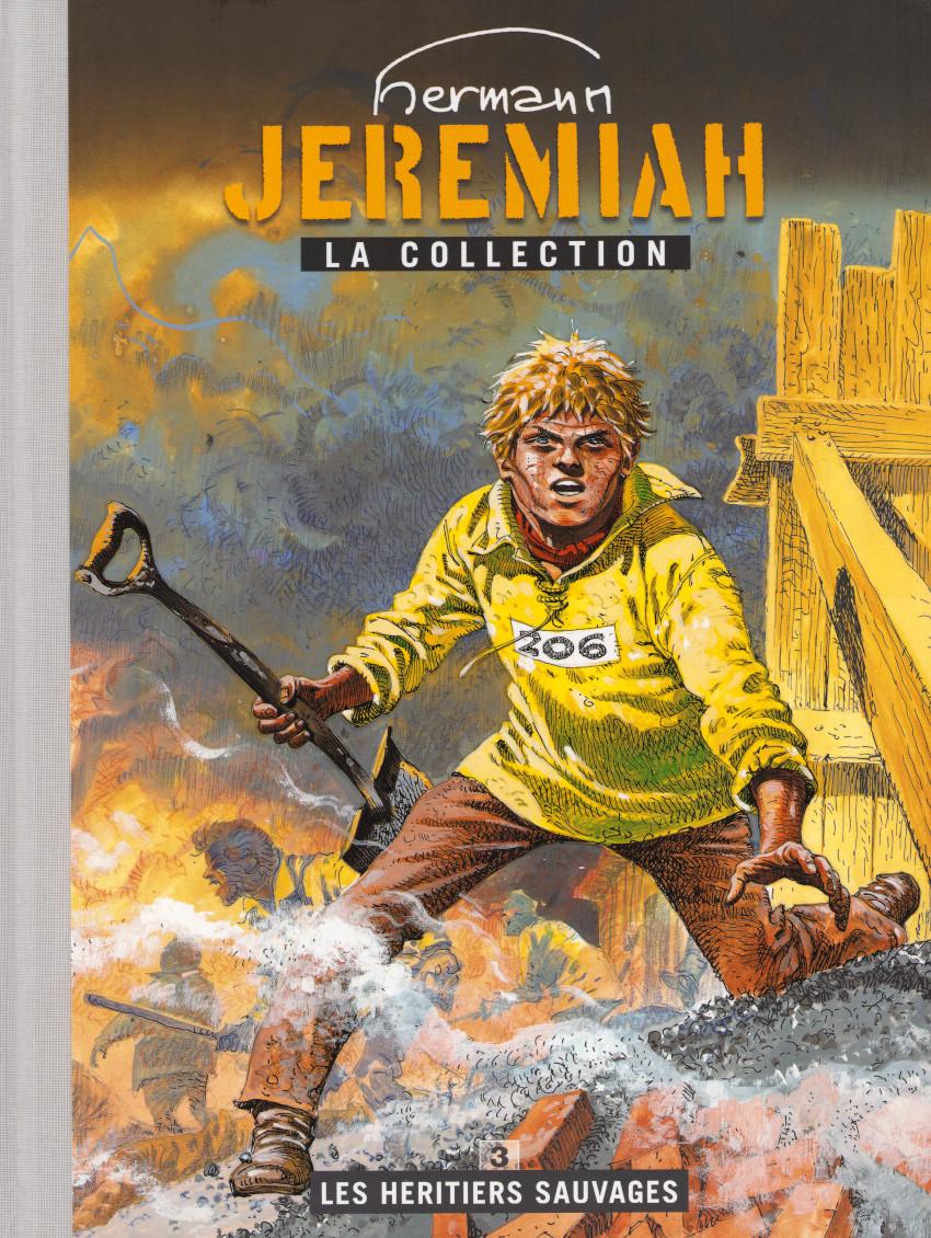 Couverture de Jeremiah - La Collection (Hachette) -3- Les héritiers sauvages
