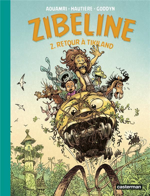 Couverture de Zibeline -2- Retour à tikiland