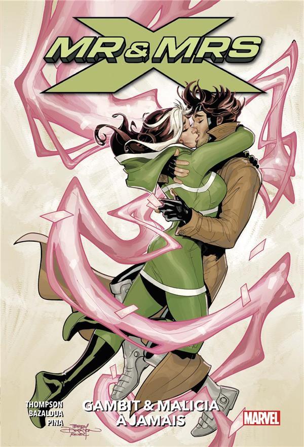 Couverture de Mr & Mrs X -2- Gambit & Malicia à jamais
