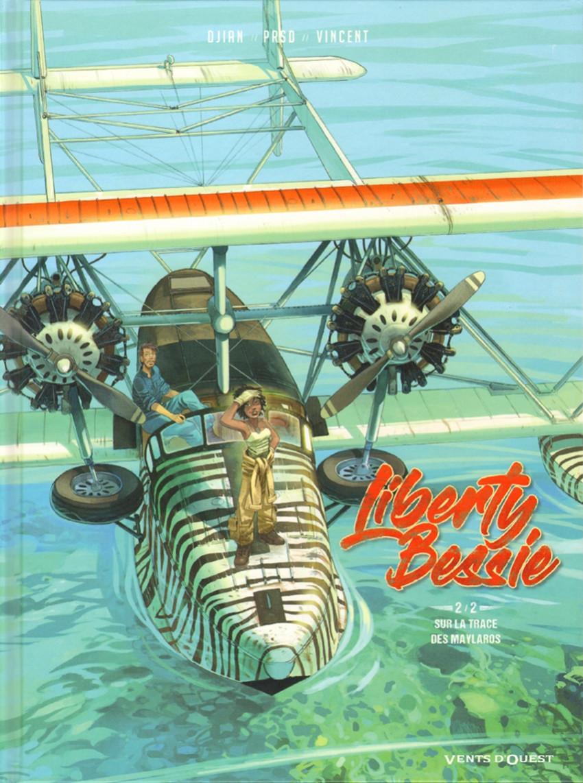 Couverture de Liberty Bessie -2- Sur les traces des Maylaros