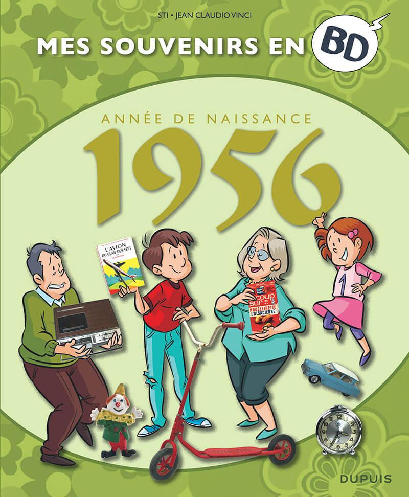 Couverture de Mes souvenirs en BD -17- Année de naissance 1956