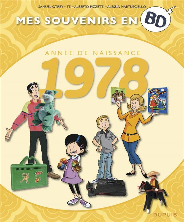 Couverture de Mes souvenirs en BD -39- Année de naissance 1978