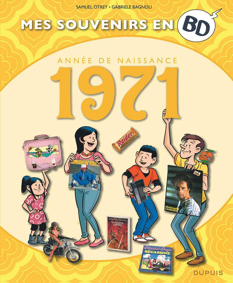 Couverture de Mes souvenirs en BD -32- 1971