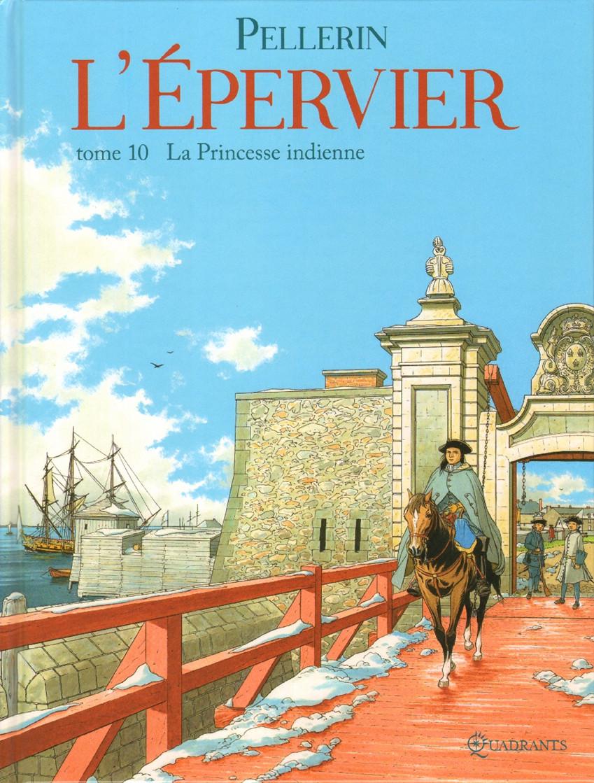 Couverture de L'Épervier (Pellerin) -10- La Princesse indienne
