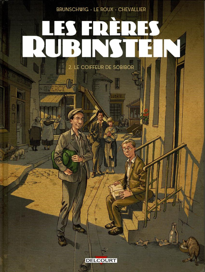 Couverture de Les frères Rubinstein -2- Le coiffeur de Sobibor