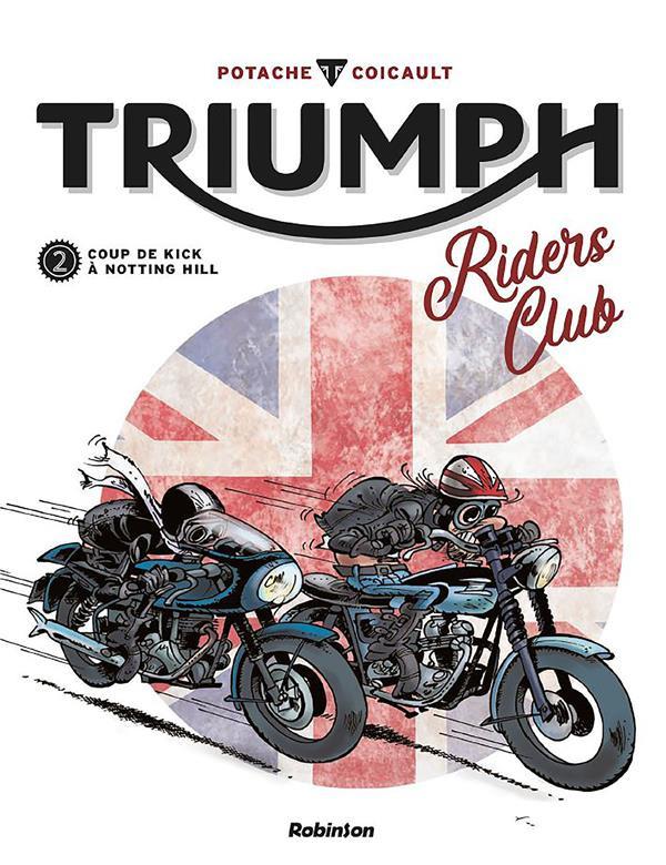 Couverture de Triumph Riders Club -2- Tome 2