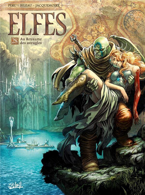 Couverture de Elfes -28- Au Royaume des aveugles