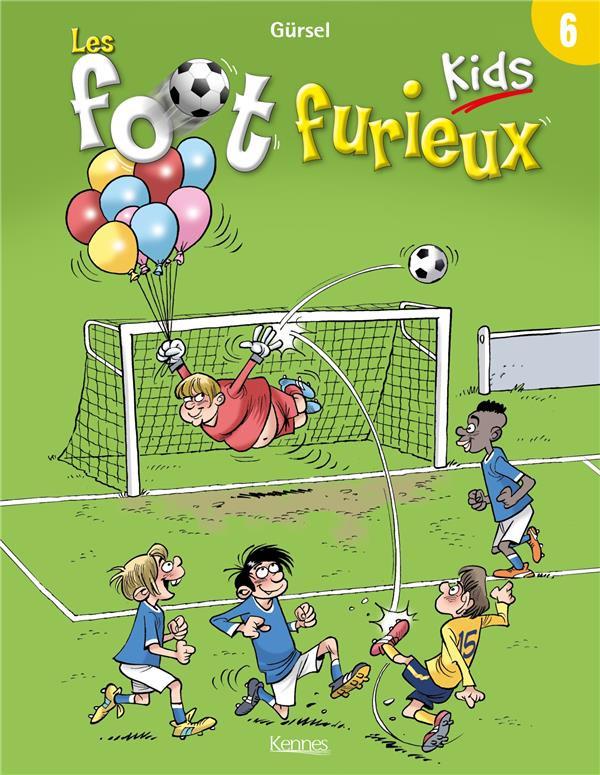 Couverture de Les foot Furieux Kids -6- Tome 6