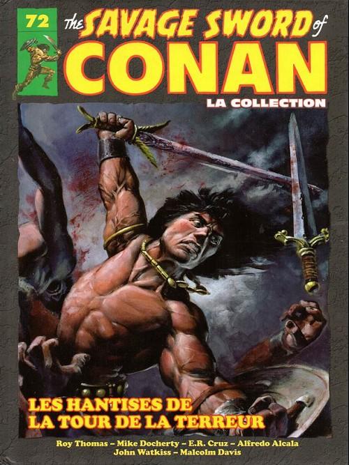Couverture de Savage Sword of Conan (The) - La Collection (Hachette) -72- Les hantises de la tour de la terreur
