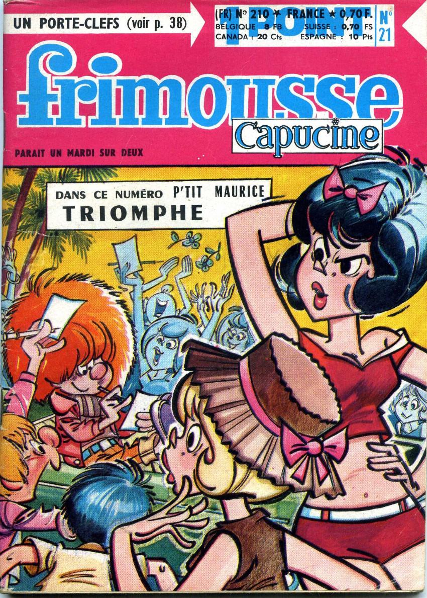 Couverture de Frimousse et Frimousse-Capucine -21021- Marika