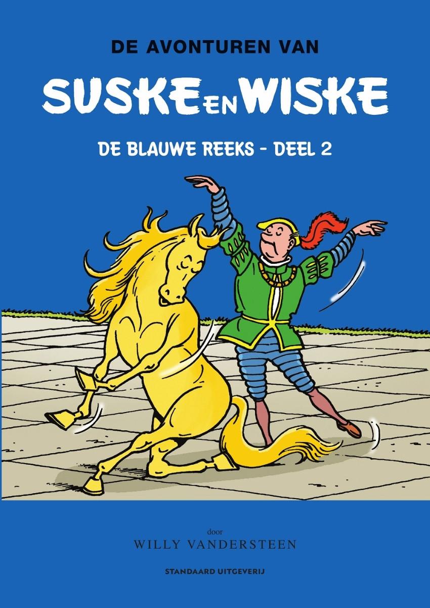 Couverture de Suske en Wiske Klassiek - Blauwe reeks -INT2- Deel 2