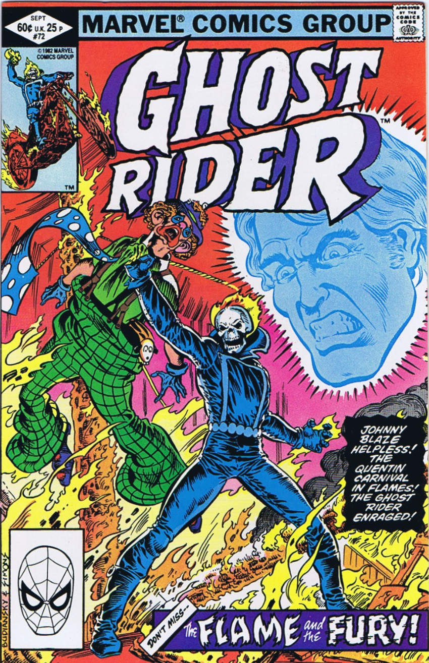 Couverture de Ghost Rider Vol.2 (Marvel comics - 1973) -72- Temptations!