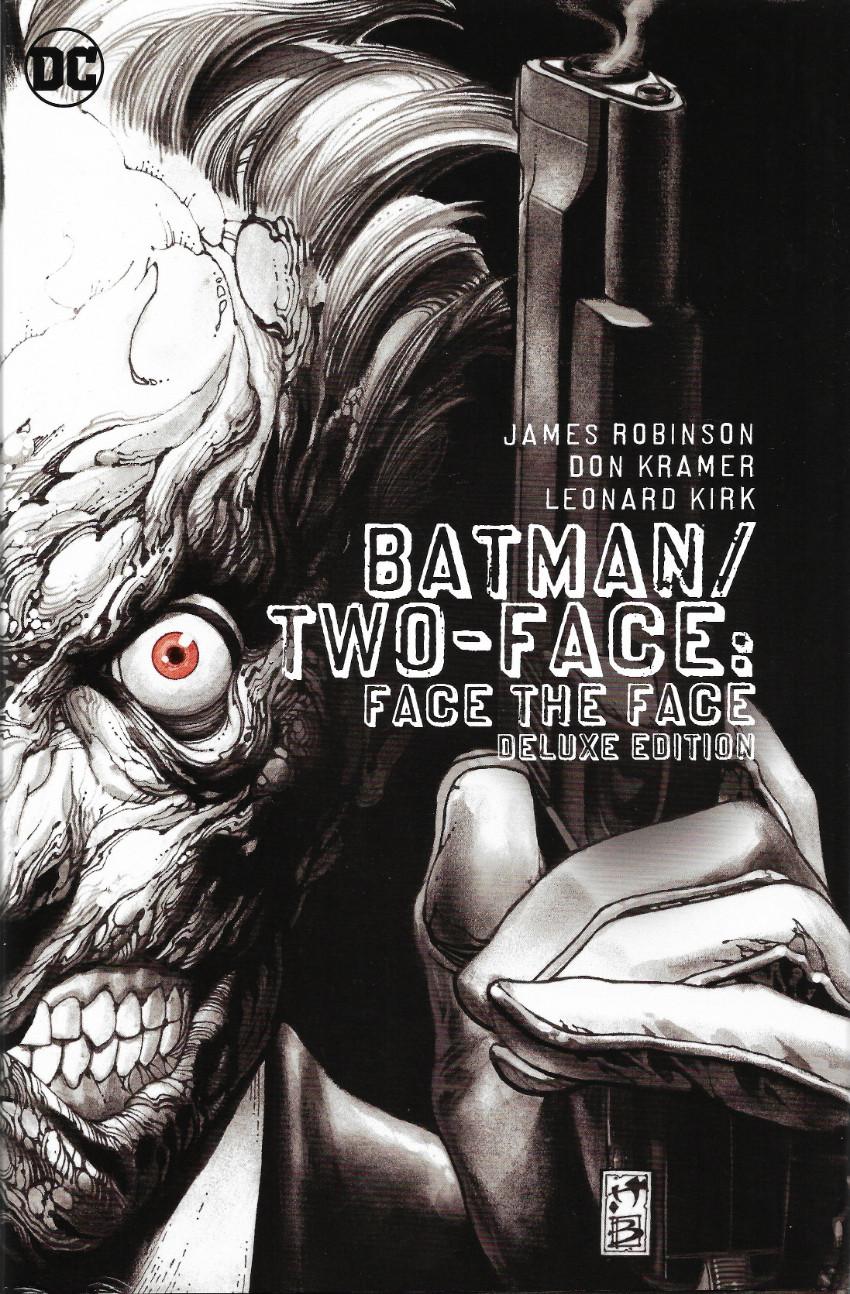 Couverture de Batman Vol.1 (DC Comics - 1940) -INT- Batman / Two-Face : Face the Face Deluxe Edition