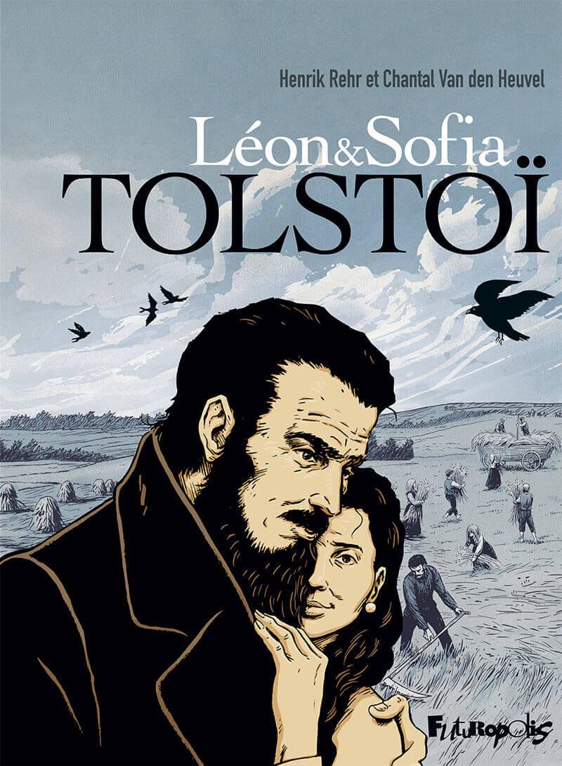 Couverture de Léon & Sofia Tolstoï