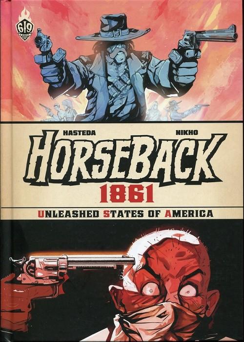 Couverture de Horseback -1- 1861
