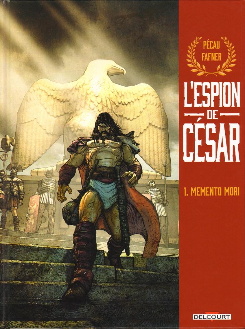 Couverture de L'espion de César -1- Memento mori