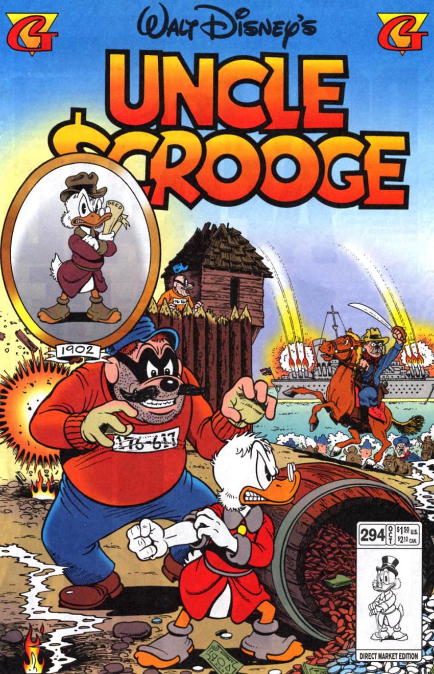 Couverture de Uncle $crooge (5) (Gladstone - 1993) -294- Issue # 294