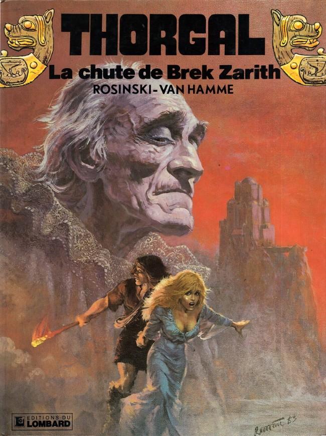 Couverture de Thorgal -6- La chute de Brek Zarith