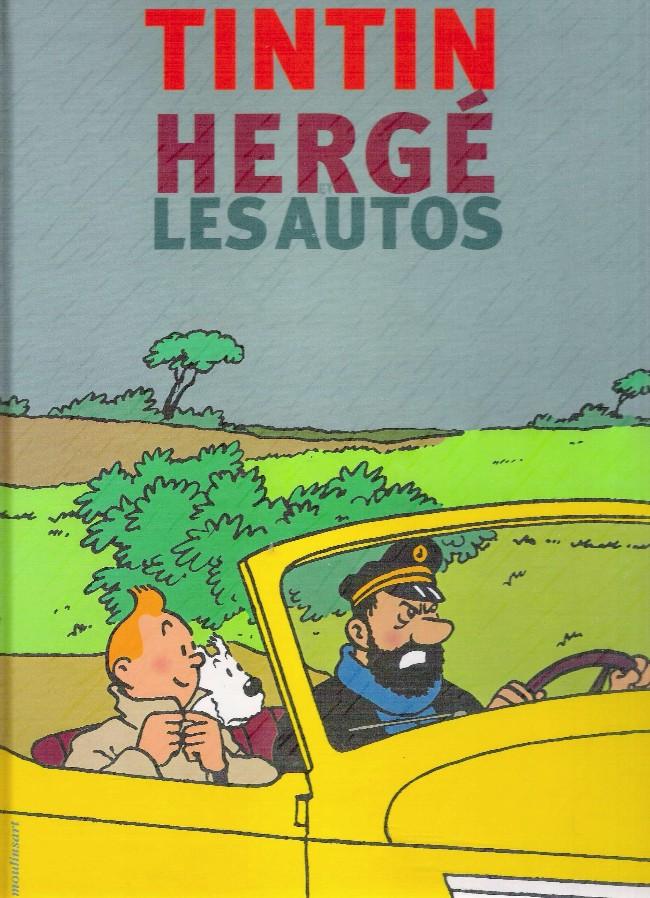 Couverture de (AUT) Hergé -35- Tintin - Hergé - Les Autos
