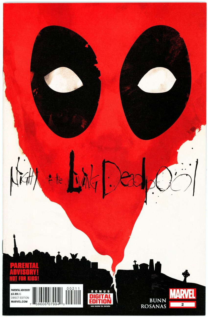 Couverture de Night of the living Deadpool (Marvel comics - 2014) -2- Issue # 2