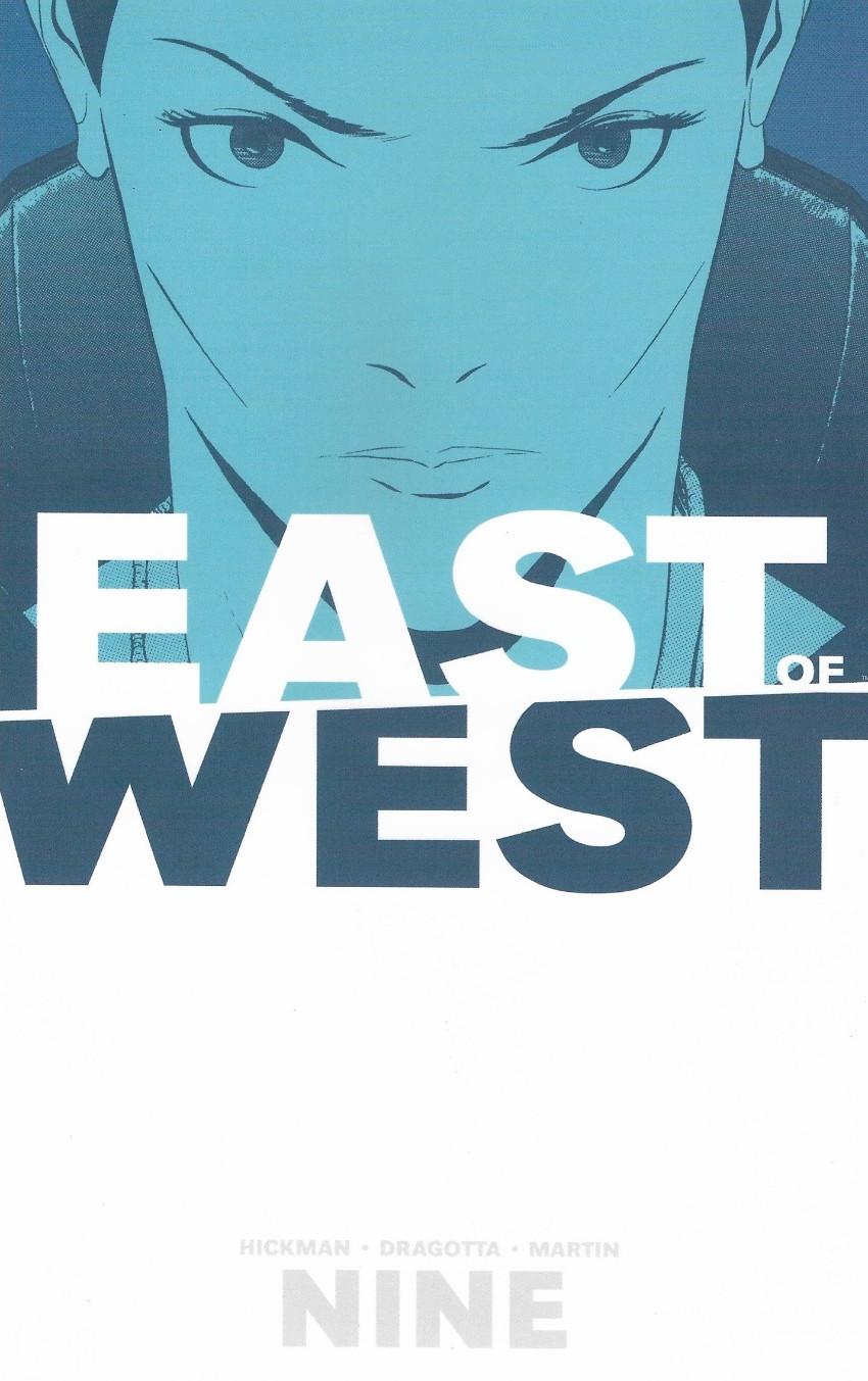 Couverture de East of West (Image comics - 2013) -INT09- Volume 9