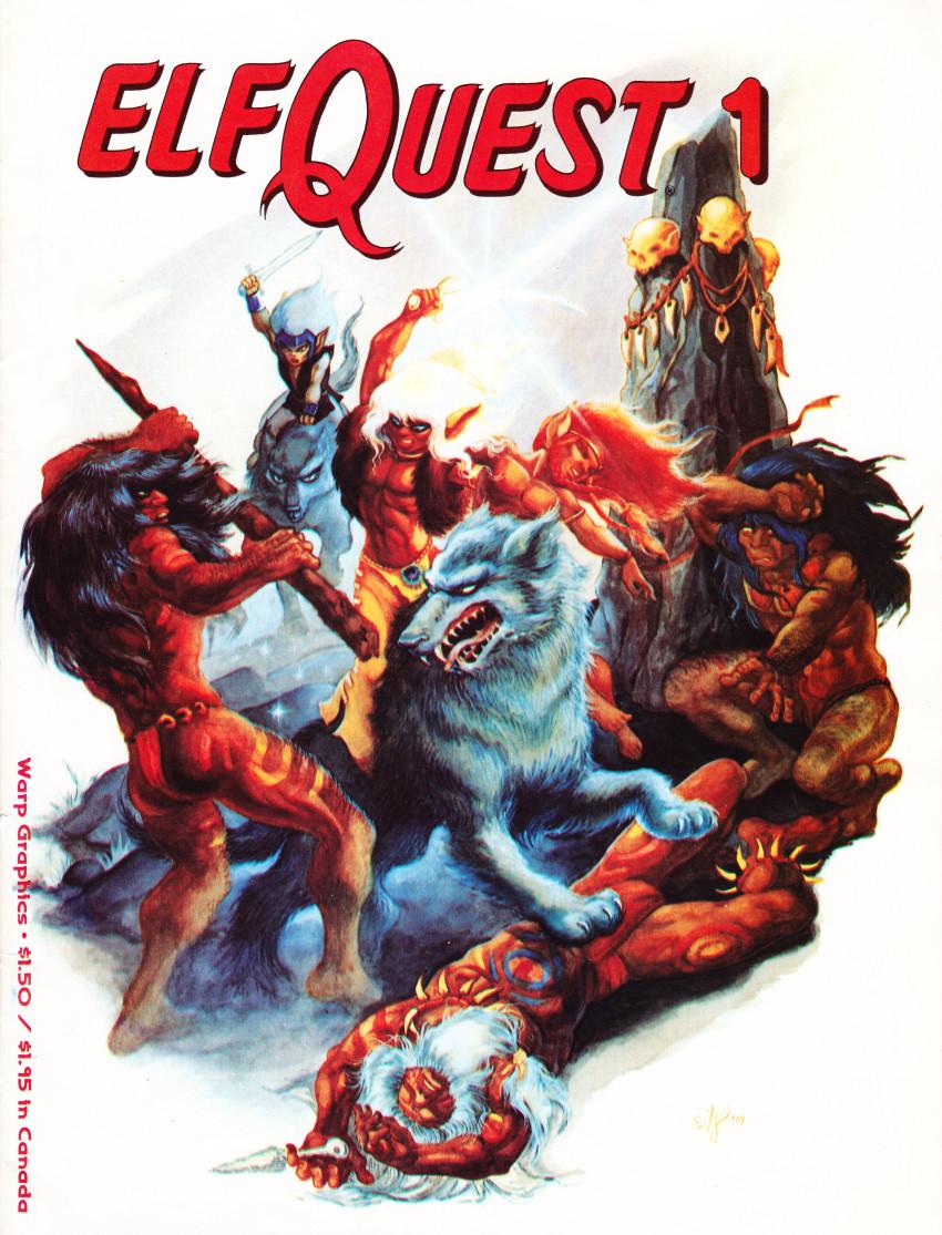 Couverture de ElfQuest (1978) -1a1989- Fire and Flight, part I