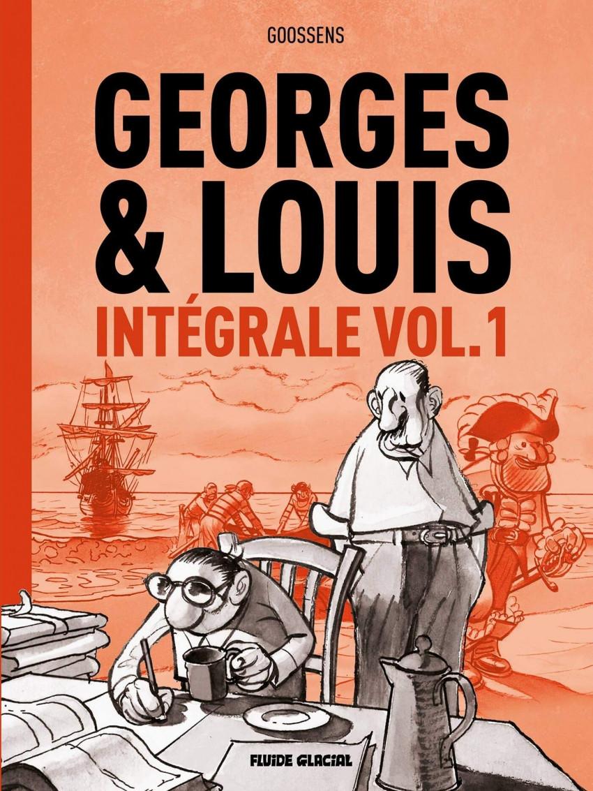 Couverture de Georges et Louis romanciers -INT1- Intégrale Vol.1