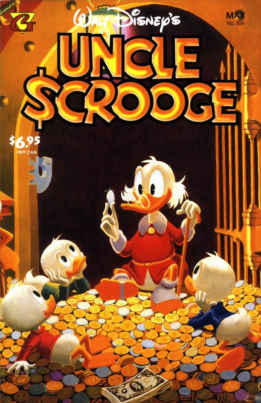 Couverture de Uncle $crooge (5) (Gladstone - 1993) -309- Issue # 309