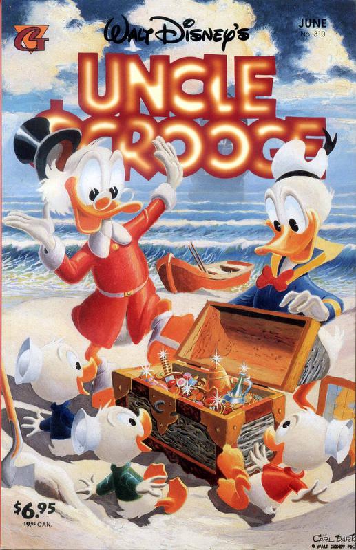 Couverture de Uncle $crooge (5) (Gladstone - 1993) -310- Issue # 310