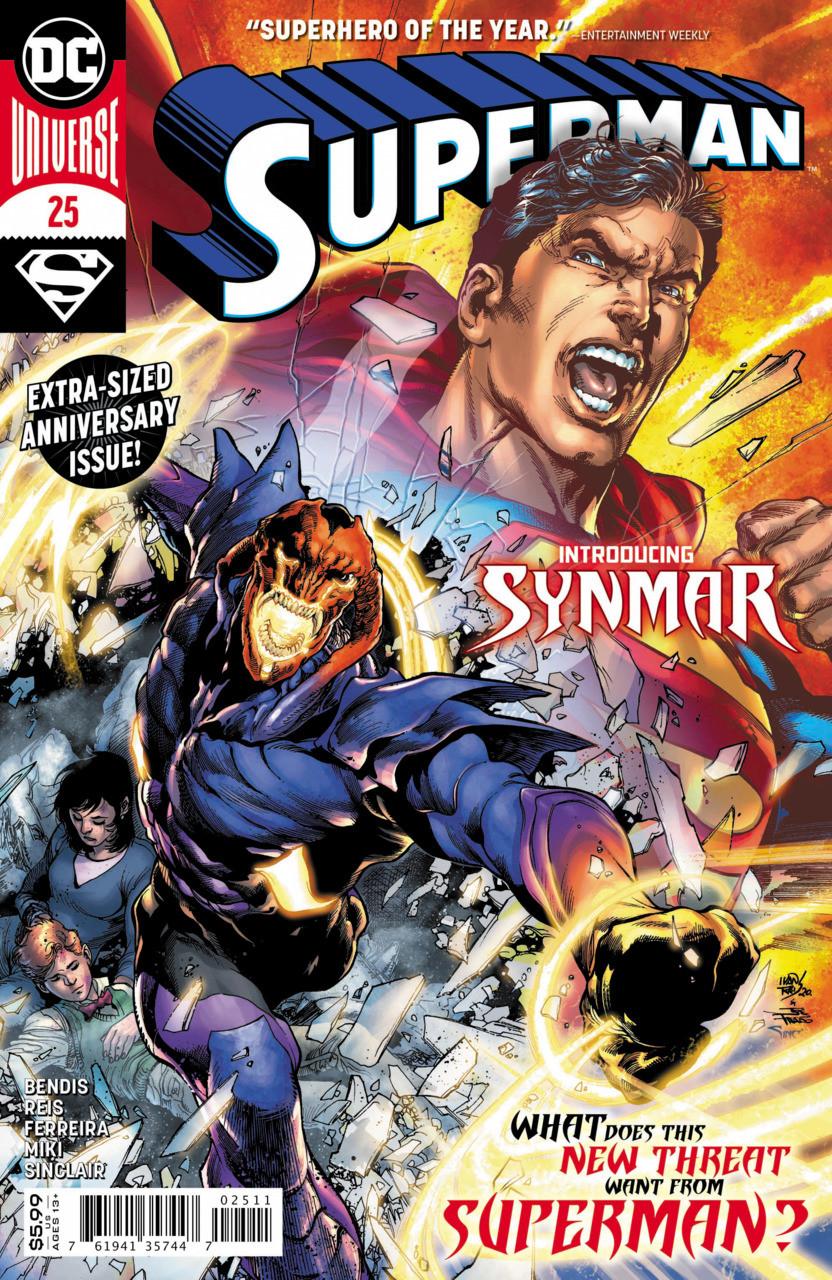 Couverture de Superman Vol.5 (DC Comics - 2018) -25- Mythological - Part one