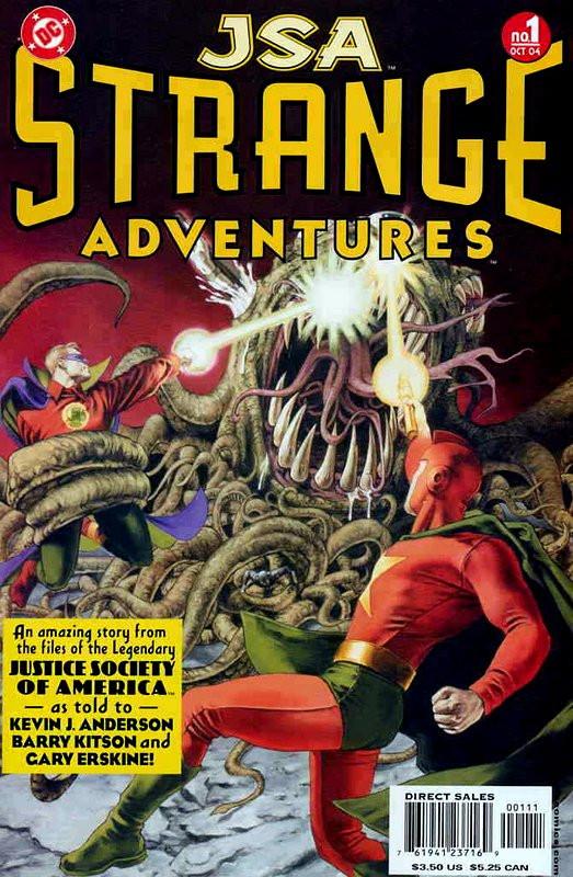 Couverture de JSA Strange Adventures (DC comics - 2004) -1- Issue # 1