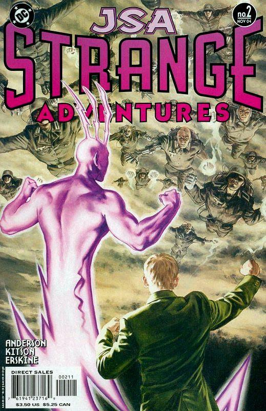 Couverture de JSA Strange Adventures (DC comics - 2004) -2- Issue # 2