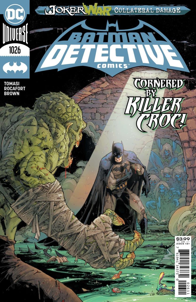 Couverture de Detective Comics (1937), Période Rebirth (2016) -1026- Monsters of Men