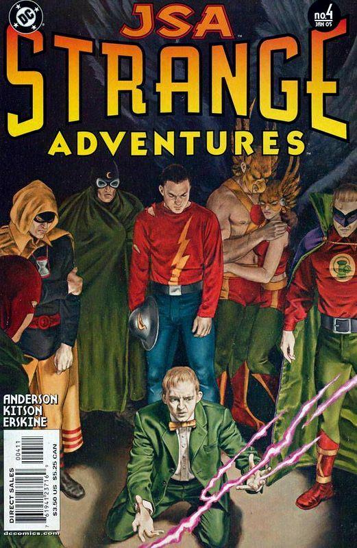 Couverture de JSA Strange Adventures (DC comics - 2004) -4- Issue # 4