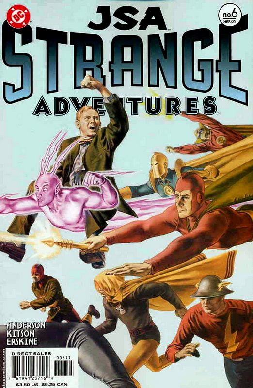 Couverture de JSA Strange Adventures (DC comics - 2004) -6- Issue # 6