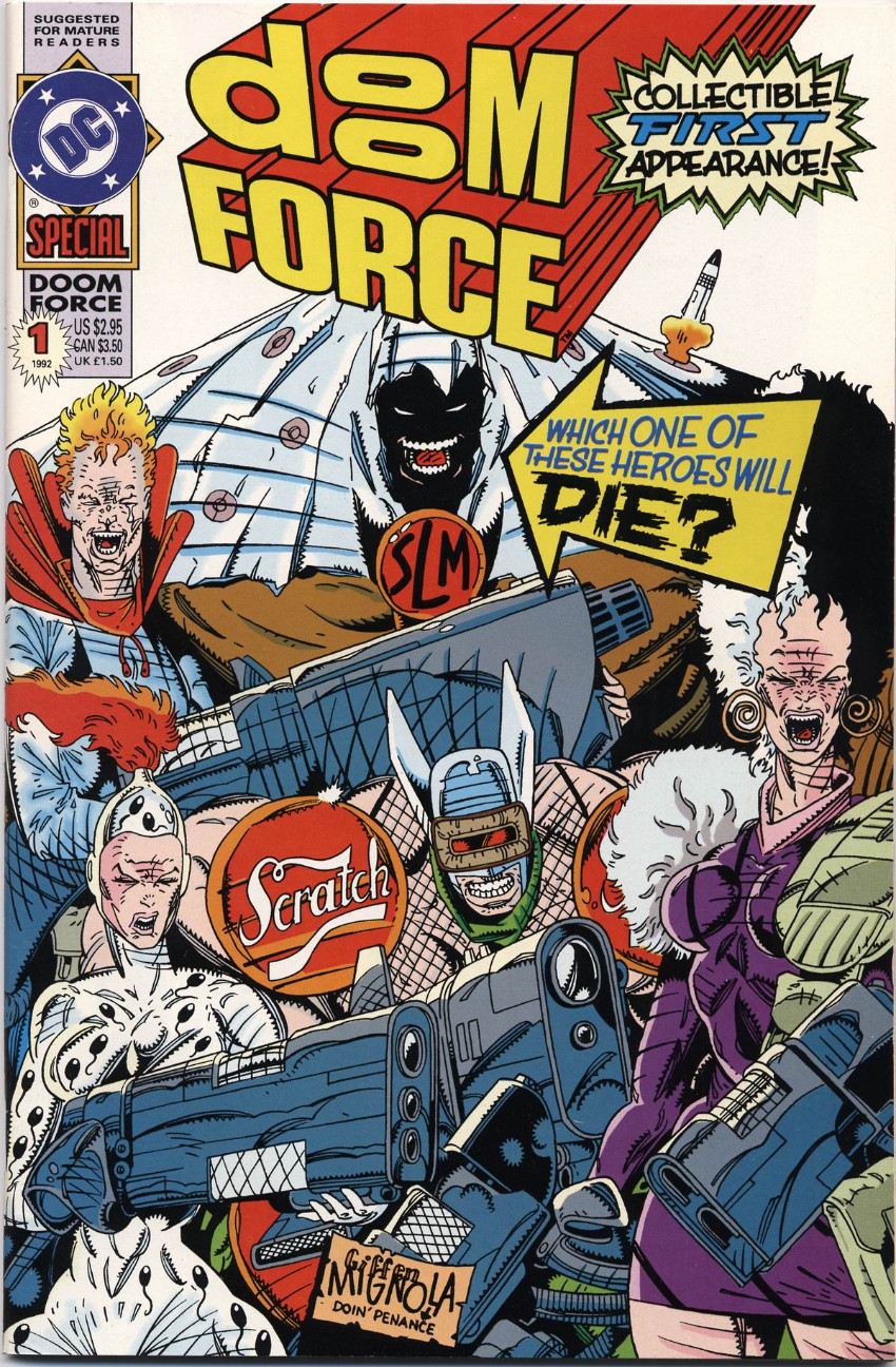 Couverture de Doom Patrol Vol.2 (DC Comics - 1987) -SP- Doom Force Special