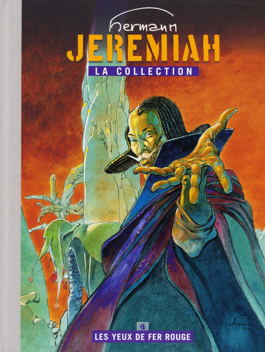 Couverture de Jeremiah - La Collection (Hachette) -4- Les yeux de fer rouge