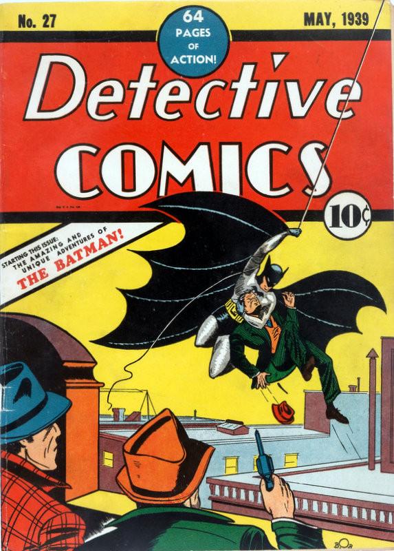 Couverture de Detective Comics (1937) -27- Issue # 27