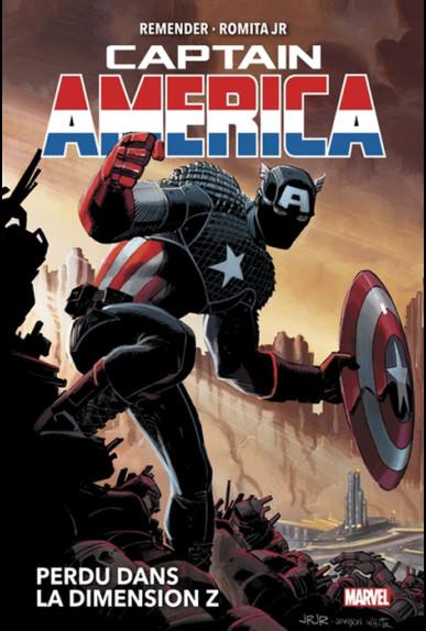 Couverture de Captain America (Marvel Now!) -INT01- Captain America - Perdu dans la Dimension Z